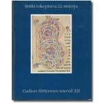 Stiški rokopisi iz 12. stoletja