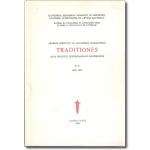 Traditionales – Zbornik Inštituta za slovensko narodopisje