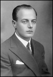 Rafael Simčič portret 1929